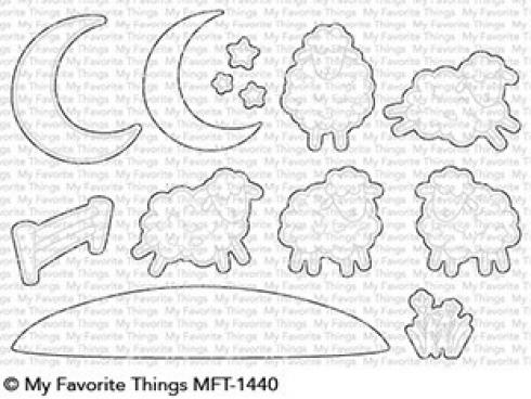 "My Favorite Things Die-namics ""Over the Moon for Ewe"""