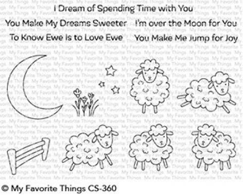 "My Favorite Things Stempelset ""Over the Moon for Ewe"" Clear Stamp Set"