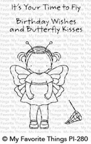 "My Favorite Things Stempelset ""Pure Innocence Butterfly Kisses"" Clear Stamp Set"