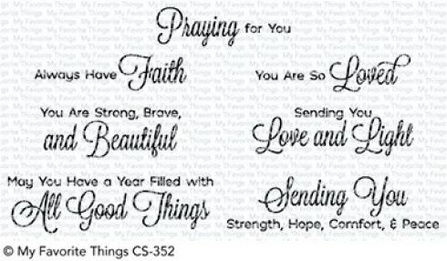 "My Favorite Things Stempelset ""Beautiful Blessings 2"" Clear Stamp"