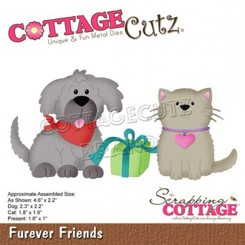 Scrapping Cottage Die - Furever Friends