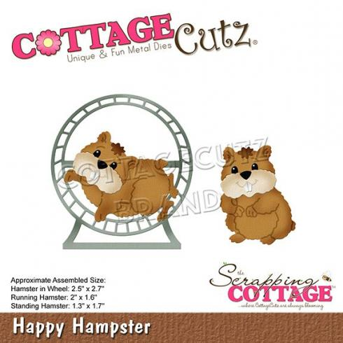 Scrapping Cottage Die - Happy Hamster