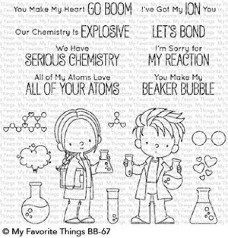 "My Favorite Things Stempelset ""Cute Chemists"" Clear Stamp Set"
