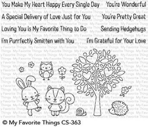 "My Favorite Things Stempelset ""Wonderful Woodland Friends"" Clear Stamp Set"