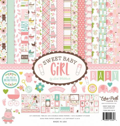 "Echo Park ""Sweet Baby Girl"" 12x12"" Collection Kit"