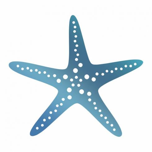 Couture Creations Hotfoil Stamp Die  - Starfish
