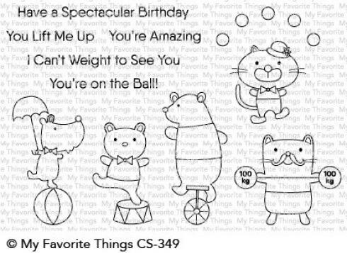 "My Favorite Things Stempelset ""Spectacular Birthday"" Clear Stamp Set"
