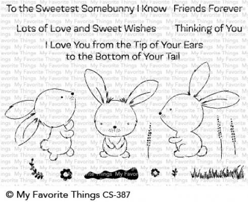 "My Favorite Things Stempelset ""Sweetest Somebunny"" Clear Stamp Set"