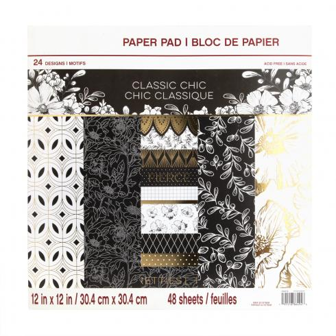"Craft Smith ""Classic Chic"" 12x12"" Paper Pad"