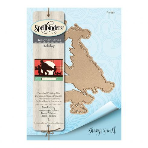 "Spellbinders Die ""Tree Picking"""