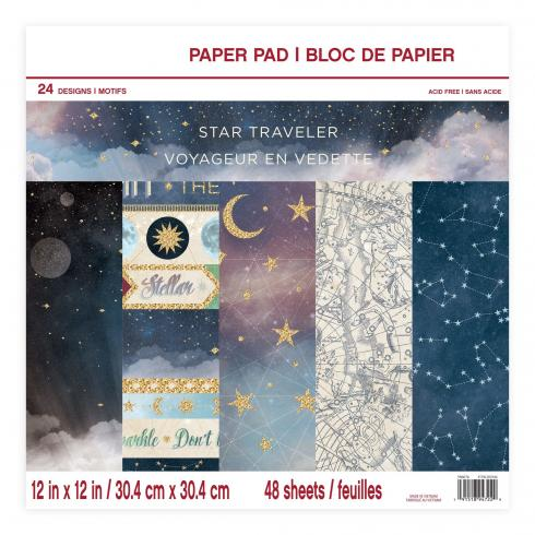 "Craft Smith ""Star Traveller"" 12x12"" Paper Pad"