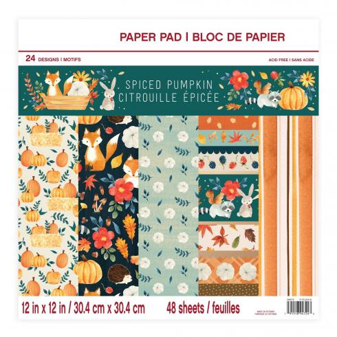 "Craft Smith ""Spiced Pumpkin"" 12x12"" Paper Pad"