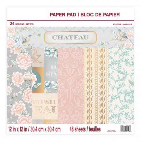 "Craft Smith ""Chateau"" 12x12"" Paper Pad"
