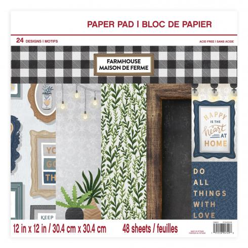 "Craft Smith ""Farmhouse"" 12x12"" Paper Pad"