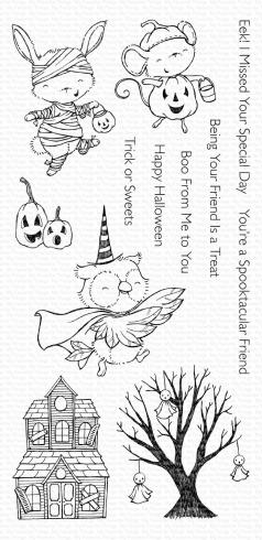 "My Favorite Things Stempelset ""Spooktacular Friends"" Clear Stamp Set"