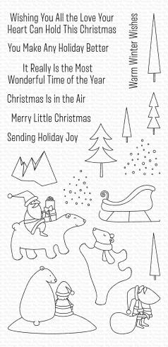 "My Favorite Things Stempelset ""Merry Moments"" Clear Stamp Set"