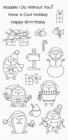 "My Favorite Things Stempelset ""Polar Penguins"" Clear Stamp Set"