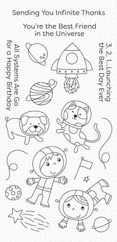 "My Favorite Things Stempel ""Best Friends in the Universe"" Clear Stamp"