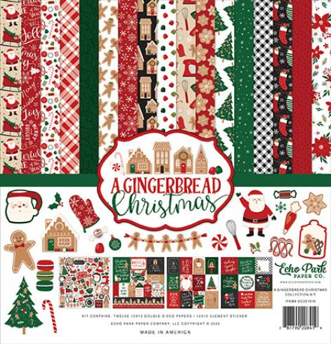 "Echo Park ""A Gingerbread Christmas"" 12x12"" Collection Kit"