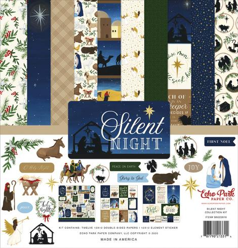 "Echo Park ""Silent Night"" 12x12"" Collection Kit"
