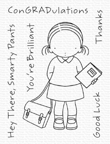 "My Favorite Things Stempelset ""Book in Hand"" Clear Stamp Set"