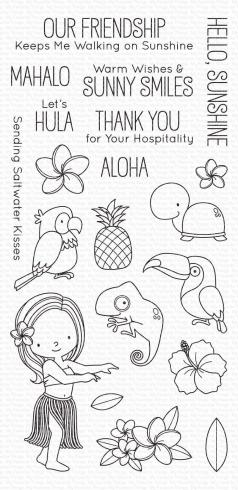 "My Favorite Things Stempelset ""Polynesian Paradise"" Clear Stamp Set"