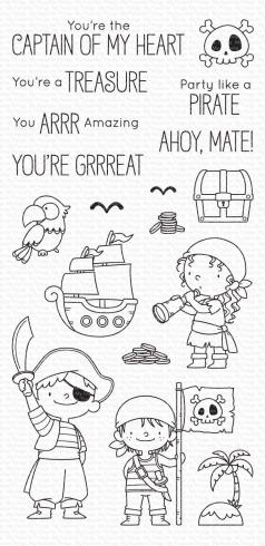 "My Favorite Things Stempelset ""Party like a Pirate"" Clear Stamp Set"