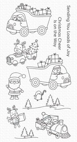 "My Favorite Things Stempelset ""Loads of Joy"" Clear Stamp Set"