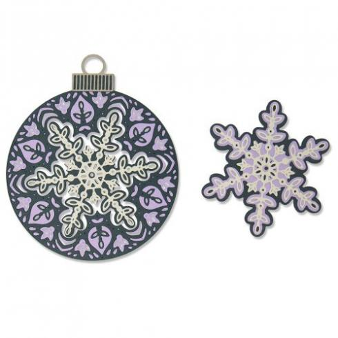 Sizzix Thinlits Craft Die-Set - Layered Snowflake