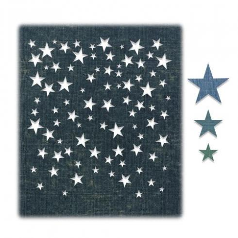 Sizzix Thinlits Craft Die-Set - Falling Stars by Tim Holtz