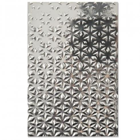 Sizzix 3D Embossing Folder Textured Impressions Embossing Folder - Star Fall - 3D Prägefolder