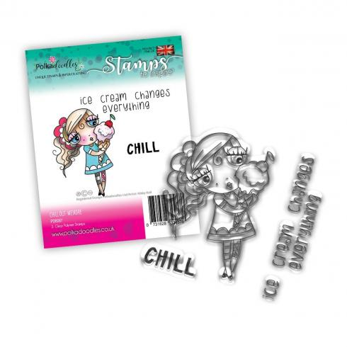 "Polkadoodles Stempel ""Weirdre Changes"" Clear Stamp-Set"