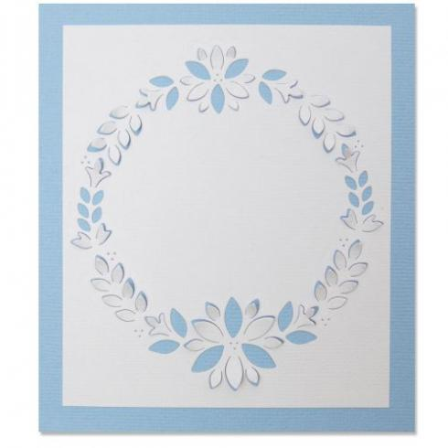 Sizzix Thinlits Craft Die - Cut-Out Wreath