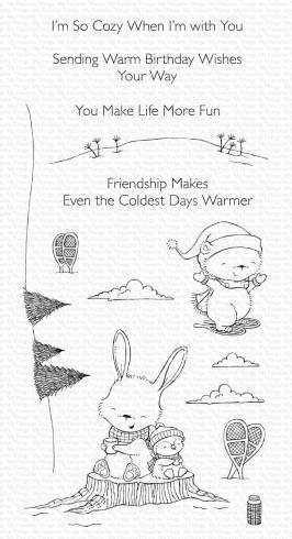 "My Favorite Things Stempel ""Frost-Loving Friends"" Clear Stamp"