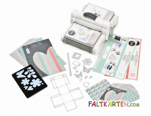 Sizzix Big Shot Plus Starter Kit DIN A4