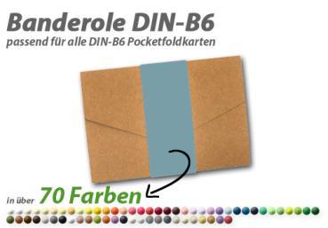 25 farbige blanko Faltkarten Klappkarten 12x17 cm Mintgrün