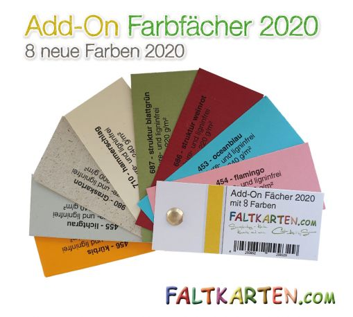 Add-On 2020 Farbfächer - Musterfächer