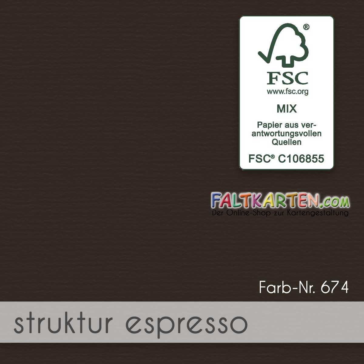 Farbton: struktur espresso