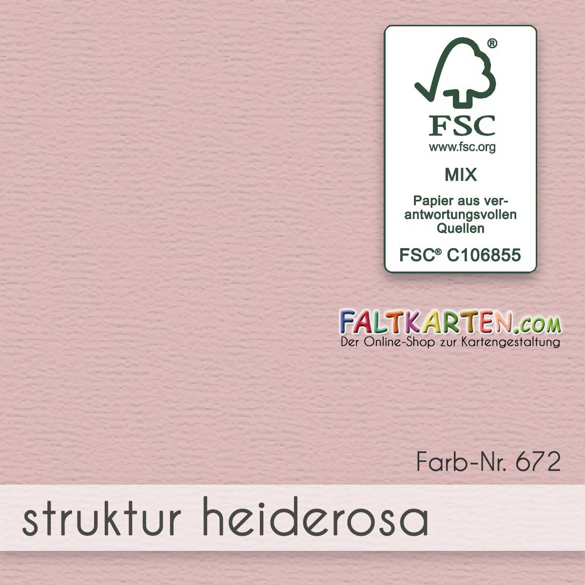 Farbton: struktur heiderosa