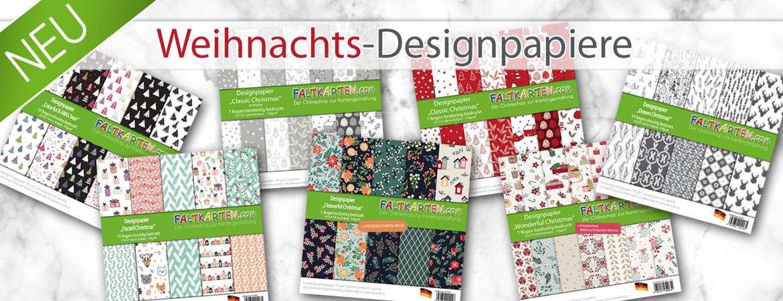 Designpapiere und Paper Packs